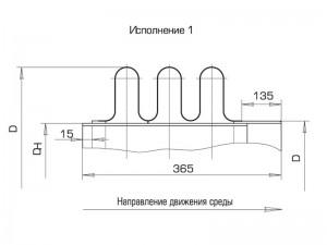 Схема работы компенсатора круглого трехлинзового ПГВУ