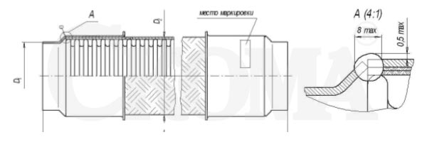 РГМ Металлорукав с арматурой под приварку
