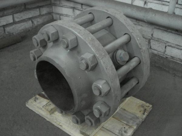 Клапан обратный поворотный типа 19с73нж в сборе (аналог ПТ44151; ПТ44152)