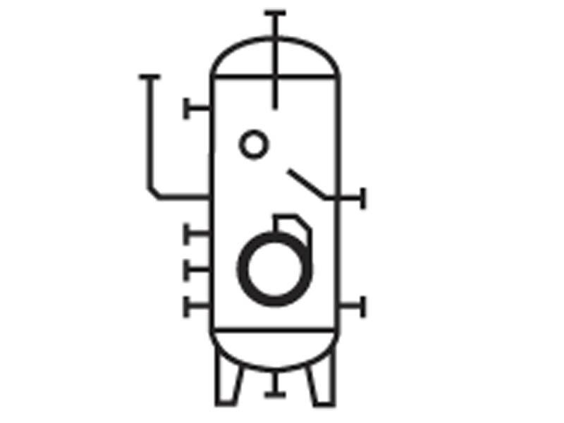 Вертикальные аппараты для газообразных углеводородных сред