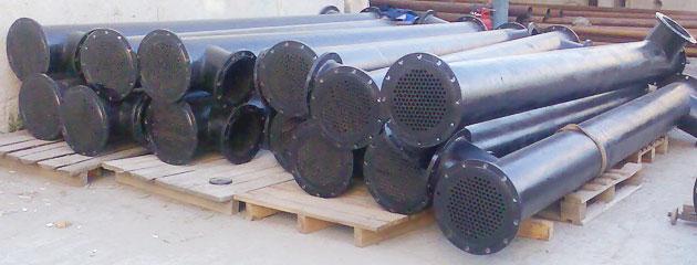 Кожухотрубный теплообменник Alfa Laval ViscoLine VLM 5x16/63-6 Подольск