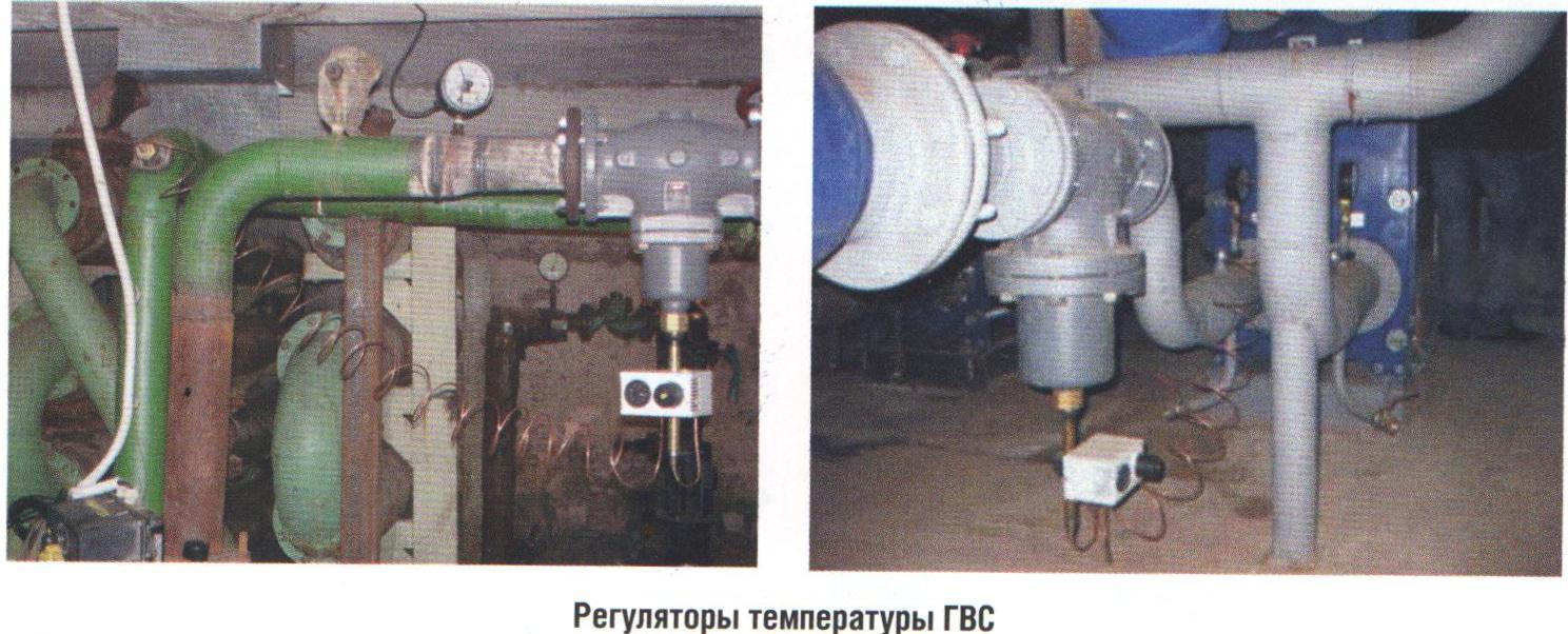 Регуляторы температуры ГВС