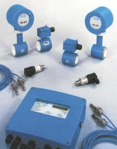 Рис.3. Теплосчетчик с электромагнитным расходомером MT200DS