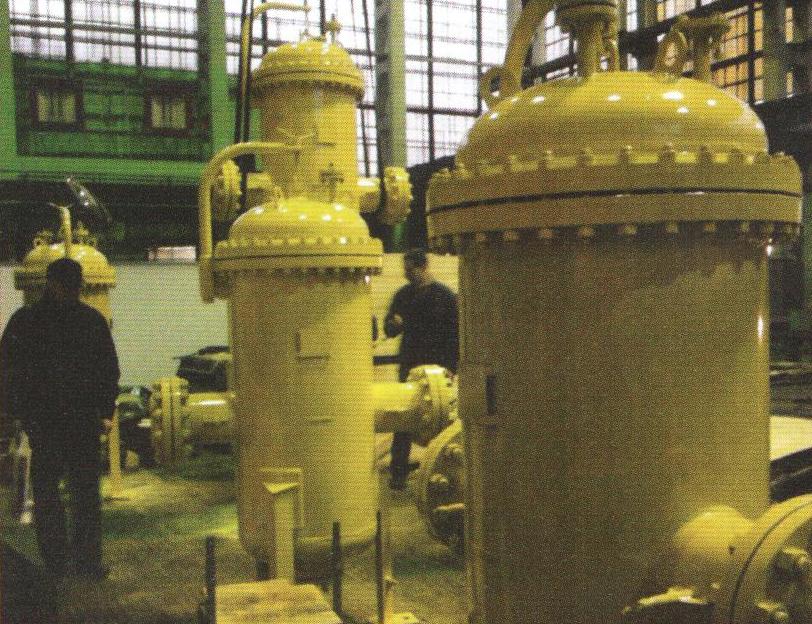 Рис.1. Фильтр газовый тонкой очистки