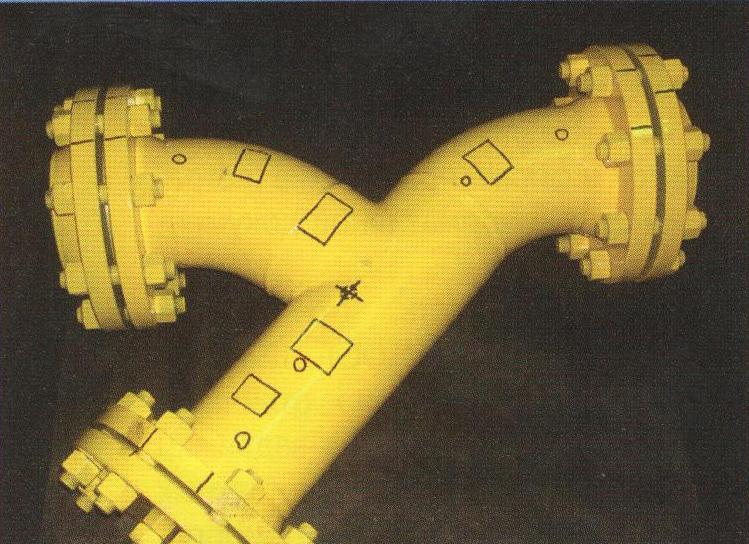 Рис.2. Фильтр-тройник для нефтепродуктов
