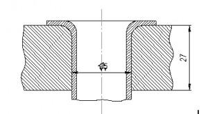 Крепление труб в трубной решетке методом вальцовки с последующей их отбортовкой