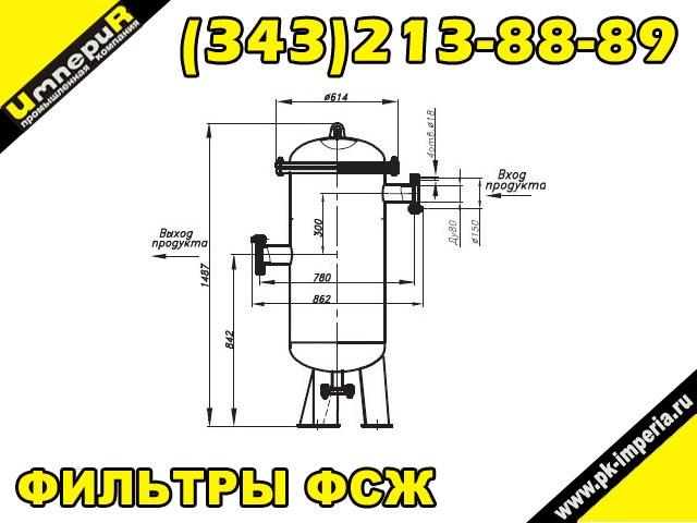 Фильтр ФСЖ 80-80-3