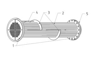 Конструкция трубной системы подогревателя